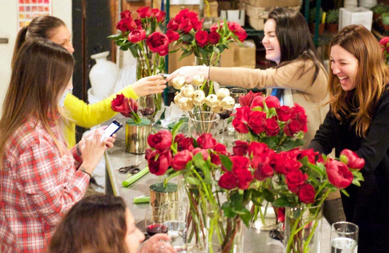 best flower arranging class los angeles floral art