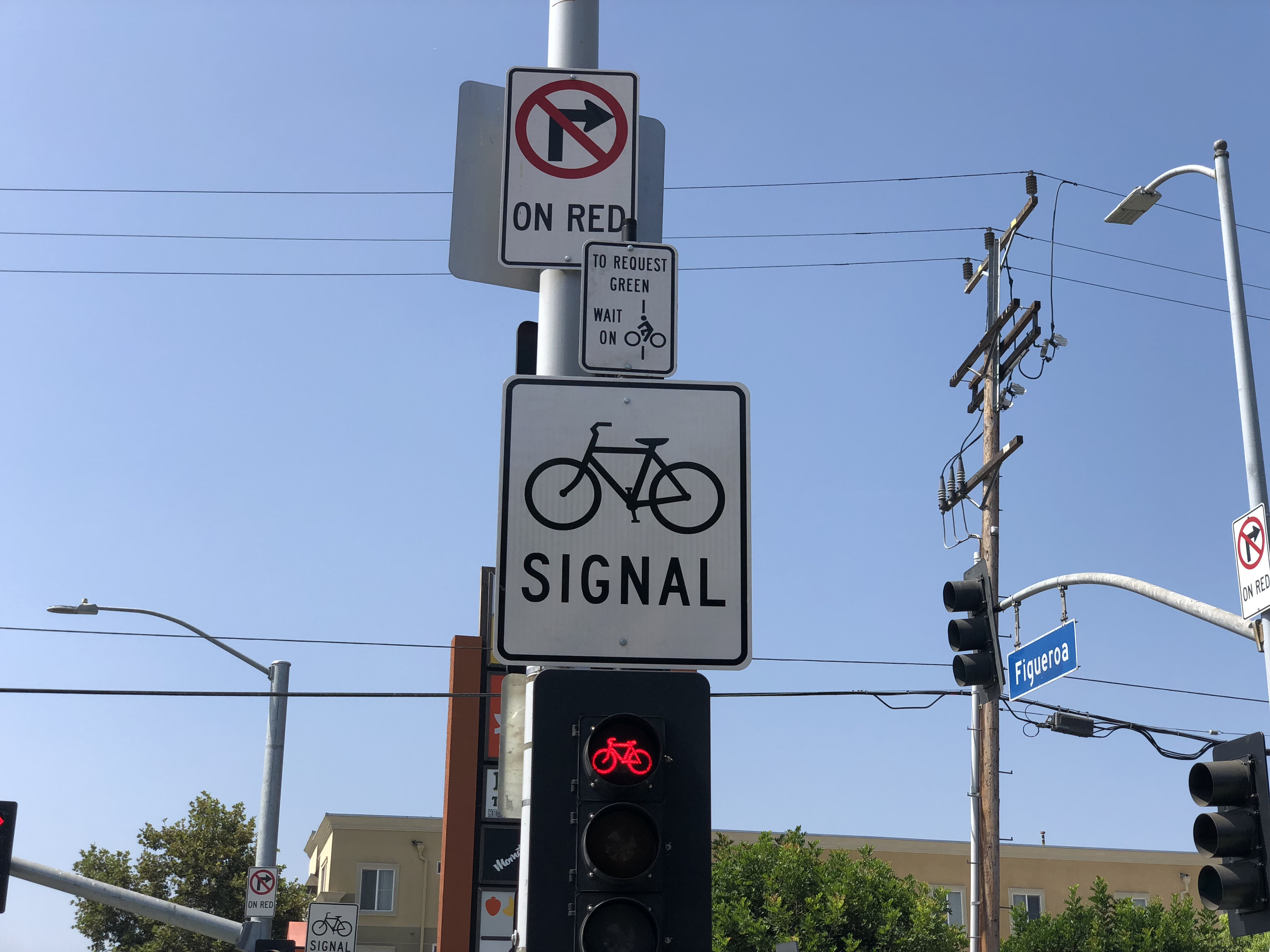 Bike traffic signals los angeles