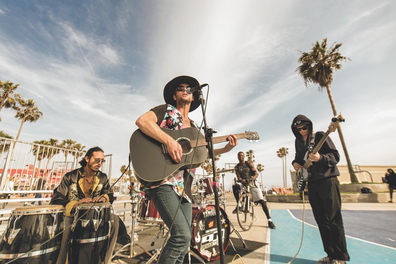 venice beach live music