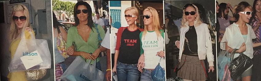 Eva Longoria, Paris and Nicky Hilton, Gwen Stefani, and Nicole Richie