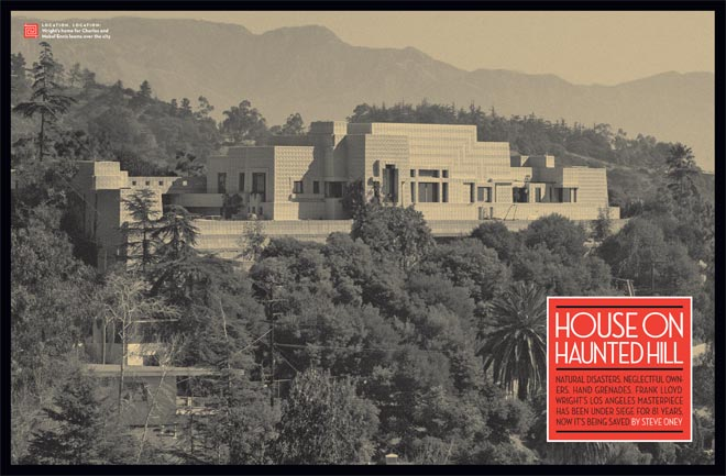 Haunted By Ghost Of Wrights Mistress >> House On Haunted Hill Los Angeles Magazine