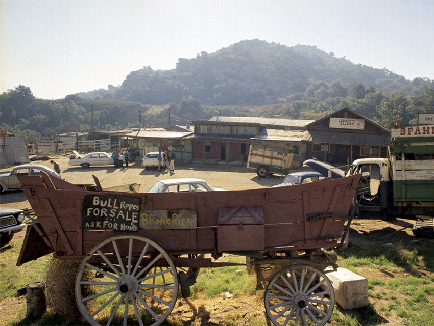 The Spahn movie ranch in the West Valley, where Manson and his Famaily lived when they embarked on their raids