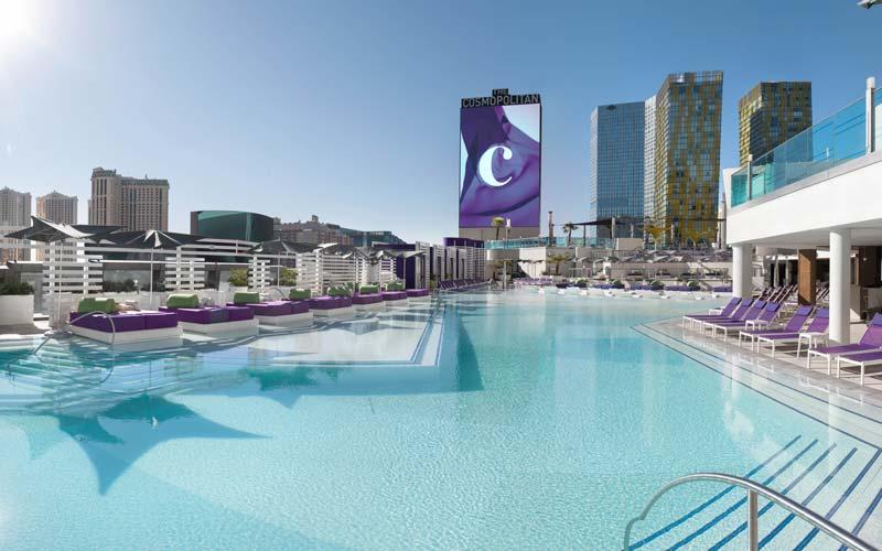 Pool Season At The Cosmopolitan Of Las Vegas Los Angeles Magazine