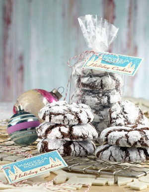 Christmas Crinkle Cookies Los Angeles Magazine