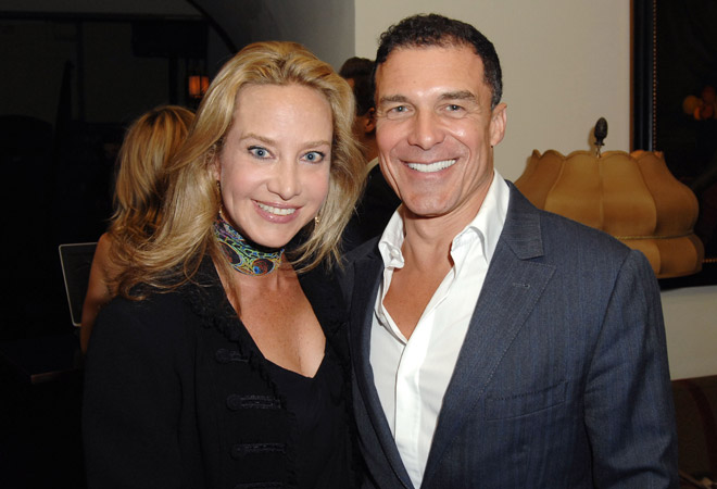 Angela Janklow and Andre Balazs
