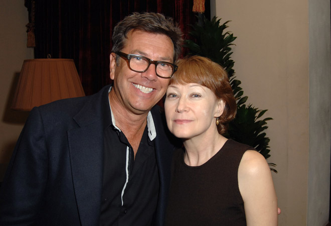 Kevin Thompson and Ann Magnuson