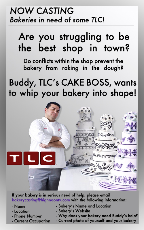 The Cake Boss Food TV casting