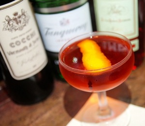 """""""Modern"""" Negroni at the Roger Room"""