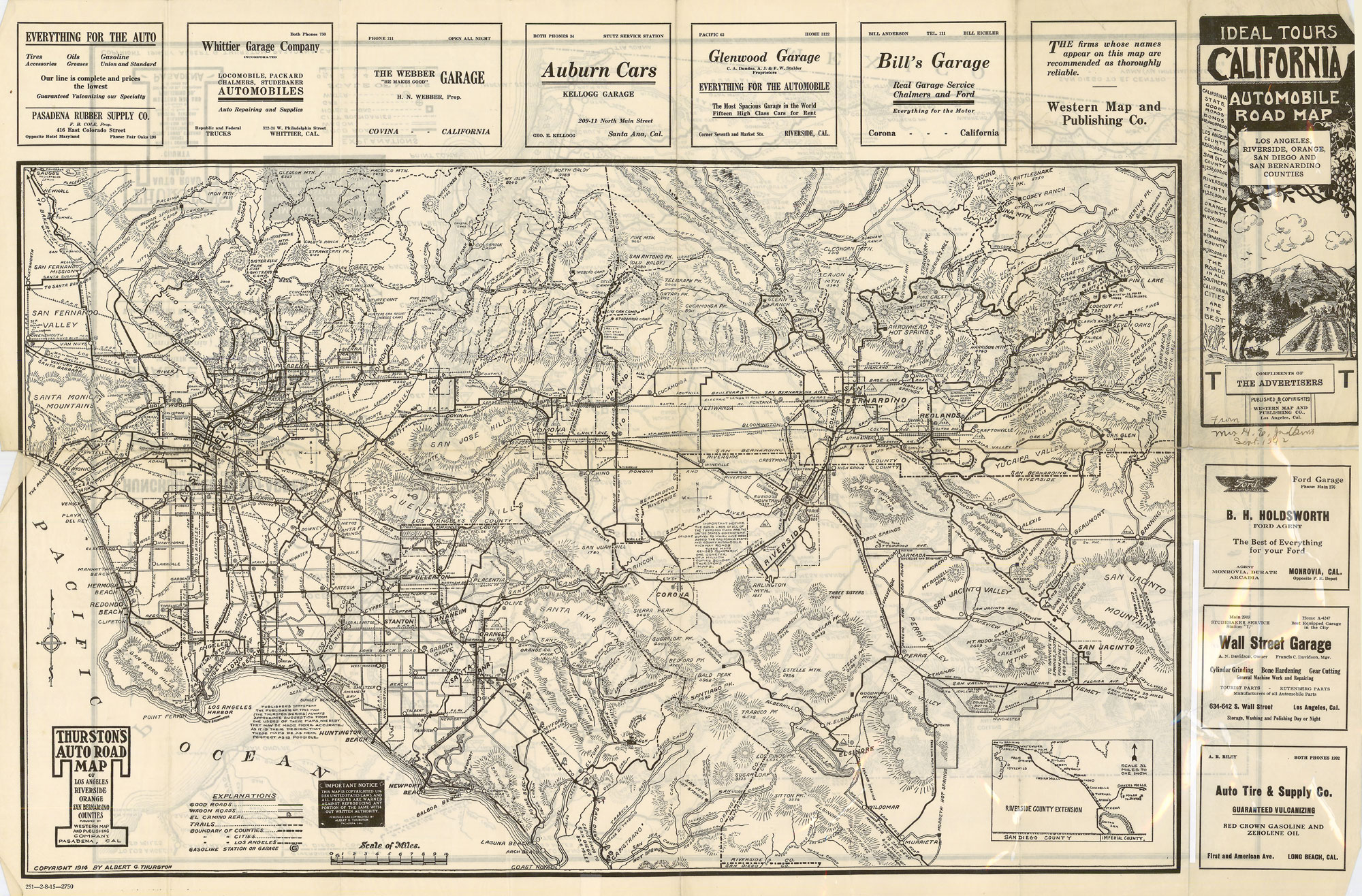 citydig: an auto road map from when l.a. was traffic free