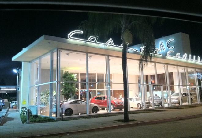 Vintage Cadillac Dealership Restored Los Angeles Magazine