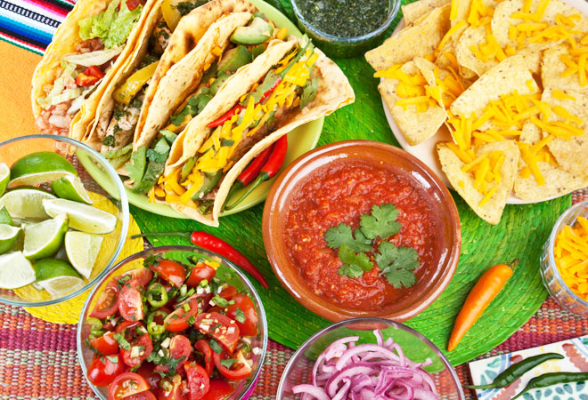 Best Recipes as well as superfoods mailing list for Cinco de mayo