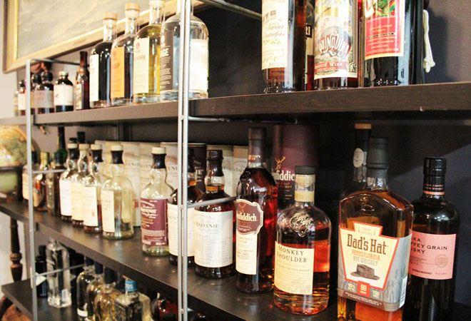 Home Bar-Hopping: Rachel Furman\'s Los Feliz Smoke & Honey Whiskey ...