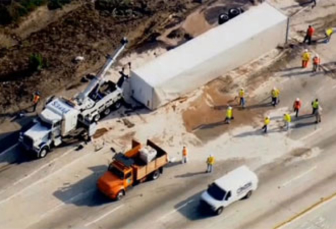 Freeway of Milk and Honey: Not-So-Sweet Big Rig Accidents Los