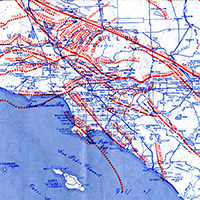 Citydig Scare Yourself Silly With This Map Of L A S Fault Lines