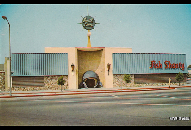 A Postcard Of The Exterior Circa 1960 Courtesy Vintage Los Angeles
