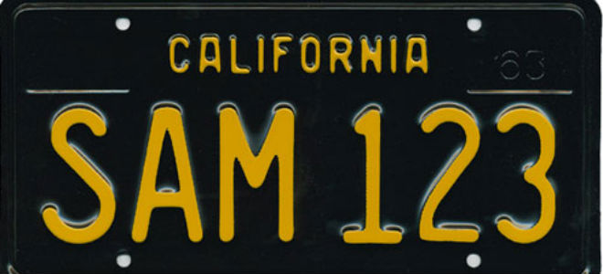 Dating old number plates