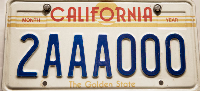 The Colorful History of California License Plates Los