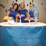 Luna Bar sampled various snacks