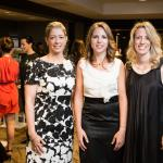 Publisher Erika Anderson, Sofitel Director of Operations Christelle Pitrel, and Editor-in-Chief Mary Melton
