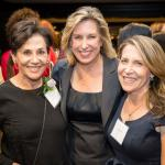 2014 L.A. Woman Adele Yellin, guest, and Jessica Yellin