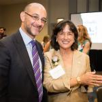 Eric Holtzman with Woman of the Year Dr. Roberta Diaz Brinton