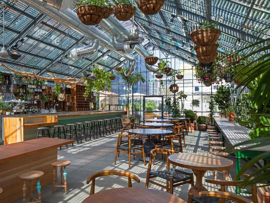 the deal with roy choi s commissary now open at the line hotel los angeles magazine. Black Bedroom Furniture Sets. Home Design Ideas