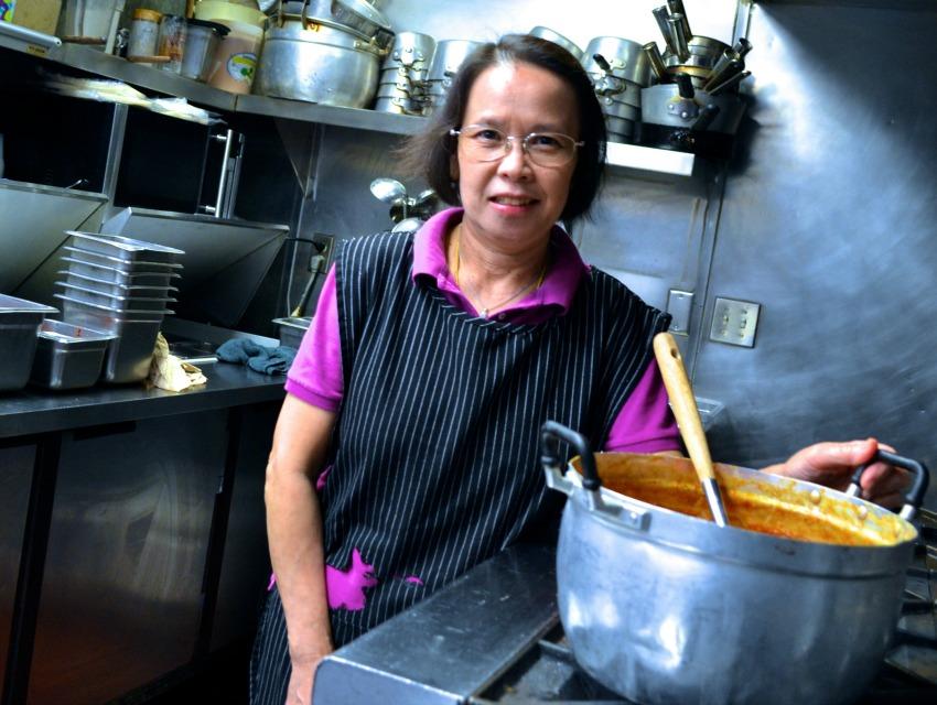 Ayara Thai chef Anna Asapahu
