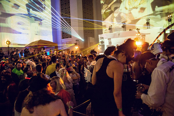 now in its sixth year the massive 21 party has become one of the best halloween shindigs in los angeles