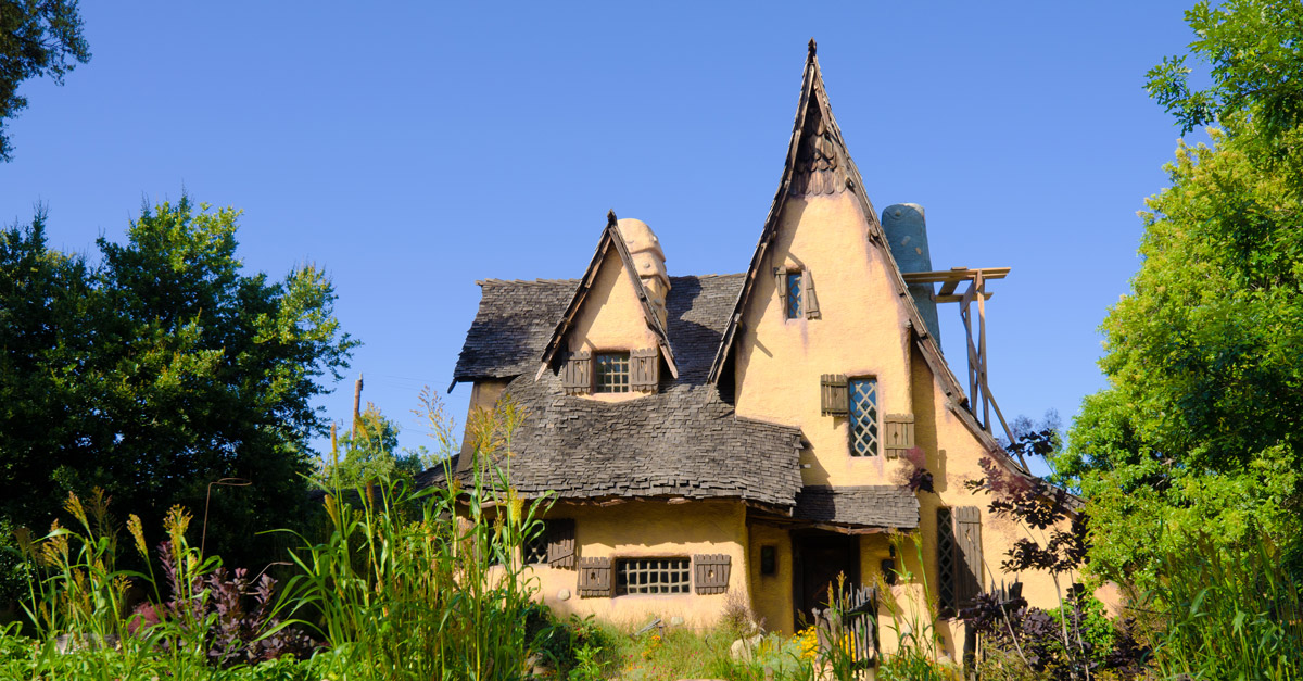 "Sneak a Peek Inside the ""Witch's House"" of Beverly Hills"