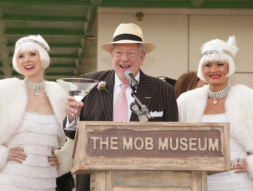 Oscar Goodman at Mob Museum