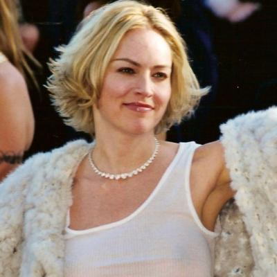 Sharon Stone in 2002