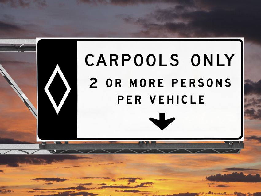 The Five Stages Of Being Trapped In The Hov Lane Los Angeles Magazine