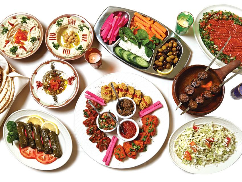 Rose Tcholakian's recipes make for a brimming menu at Carousel