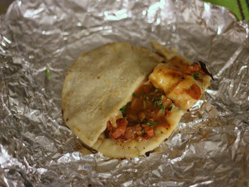 Mulita at Tacos Tamix