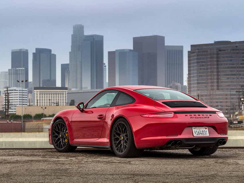The 2017 Porsche 911 Gts Will Soon Rule L A S Roads
