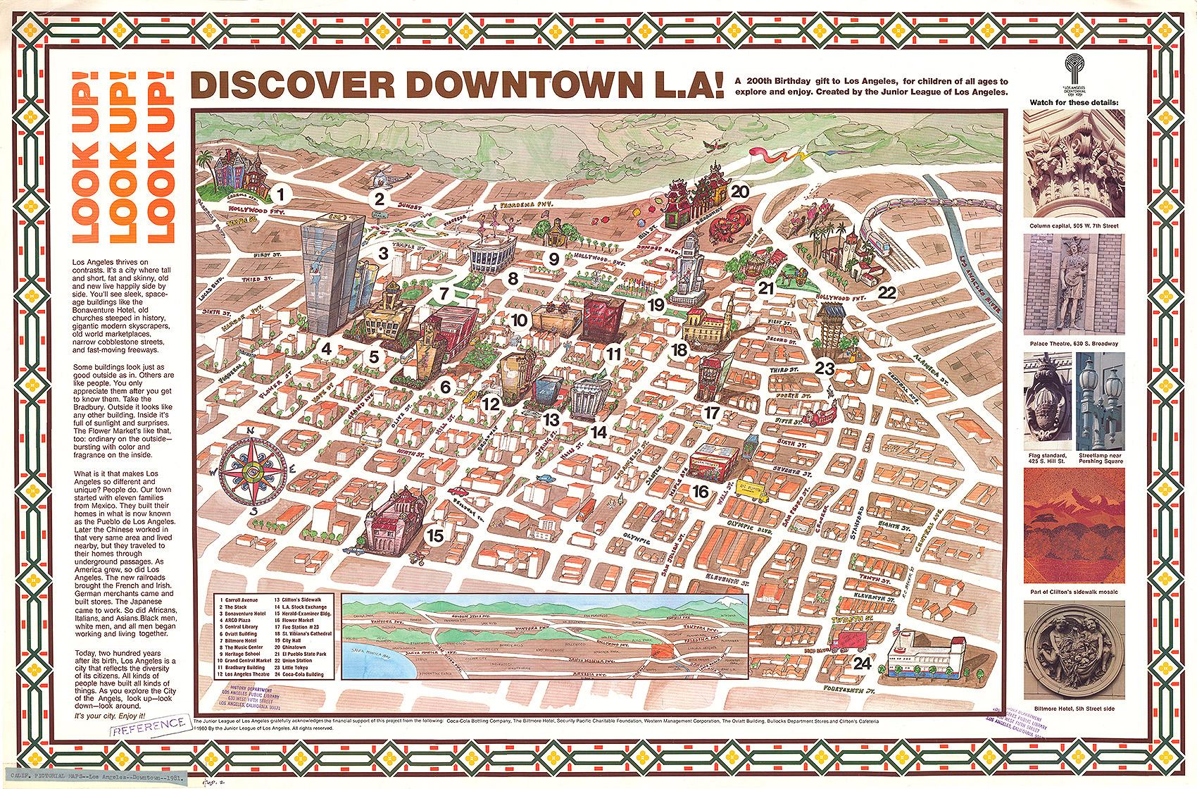 Disney Los Angeles Map.Citydig A Brief History Of The Historic Core Los Angeles Magazine