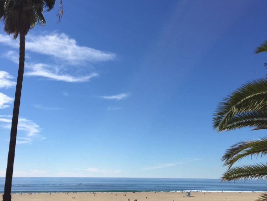 Santa Monica on Saturday