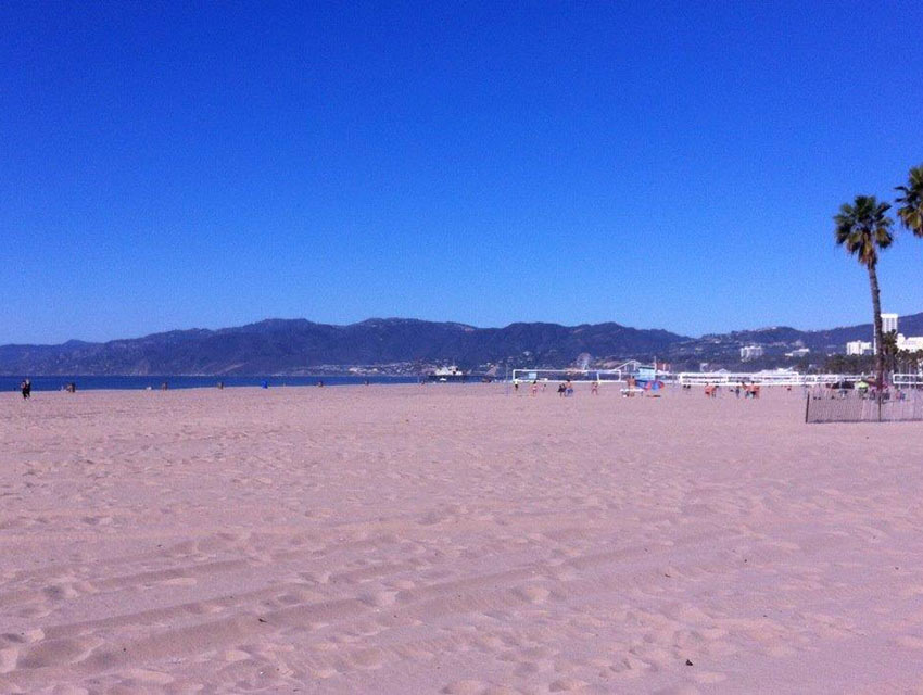 Santa Monica on Sunday