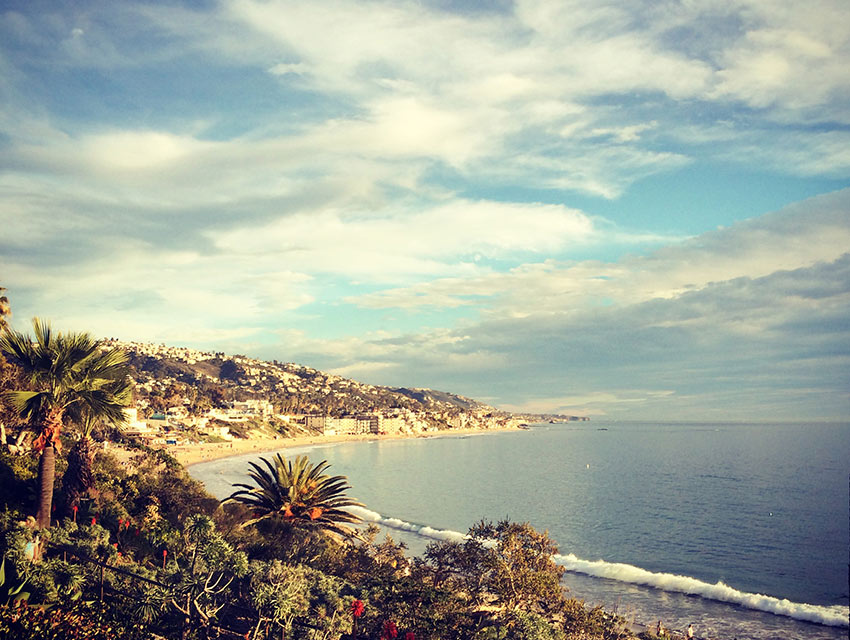 Laguna Beach on Sunday