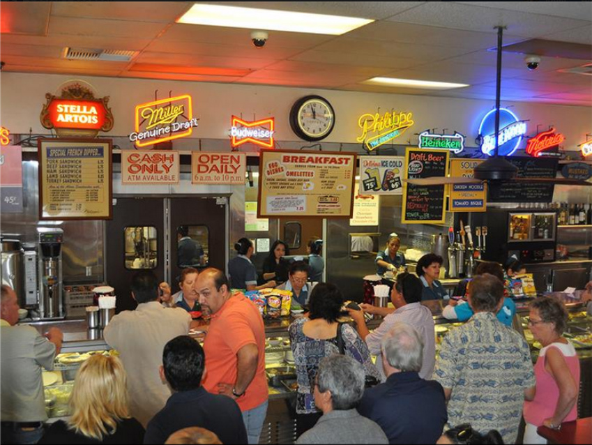 A crowd gathers at last year's Free Chili Day.