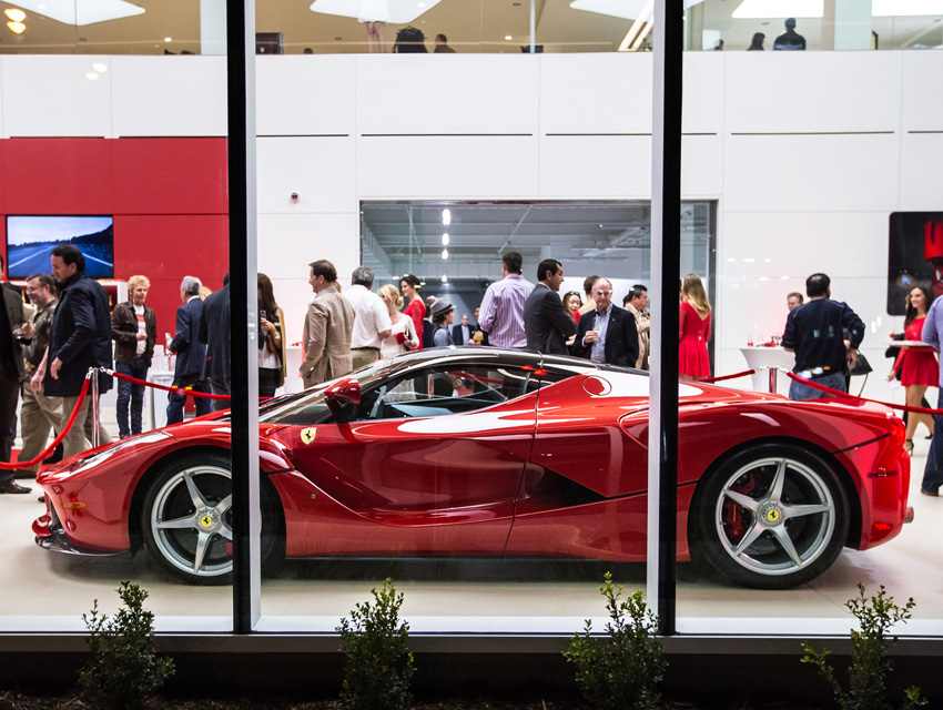 Ferrari South Bay >> Check Out The South Bay S First Ferrari Dealership Los Angeles Magazine