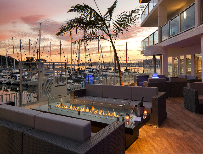 His Restaurant At The Marina Del Rey