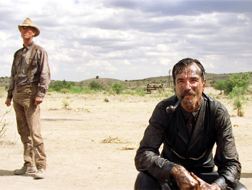 Daniel Day-Lewis in There Will Be Blood. Photograph by Everett Collection