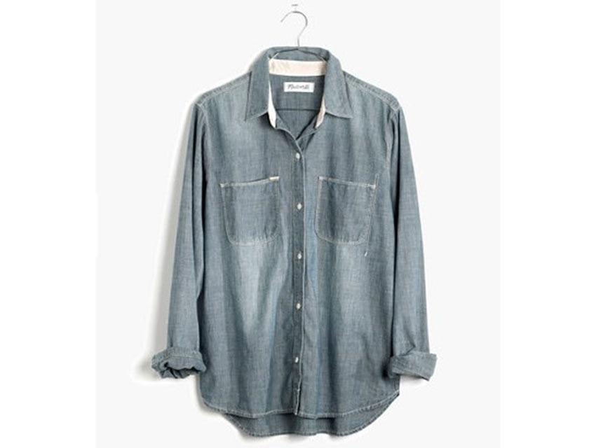 Madewell's chambray shirt