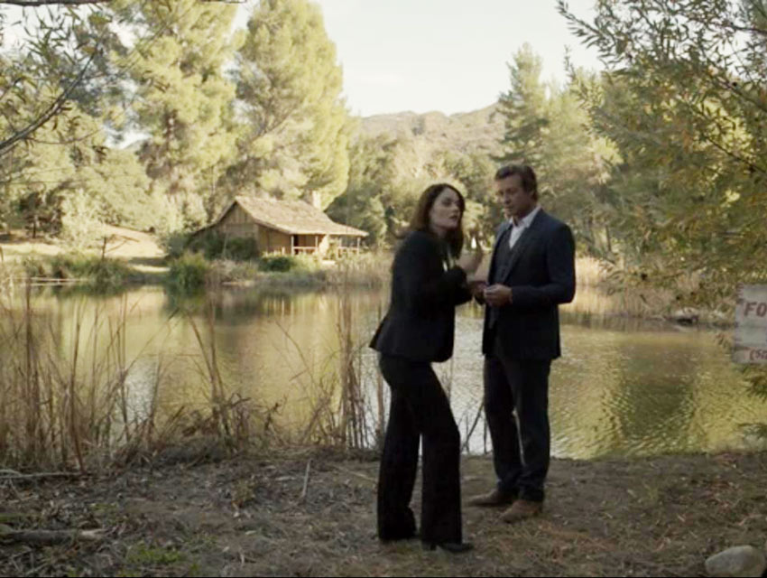Scene It Before: Golden Oak Ranch from The Mentalist Los