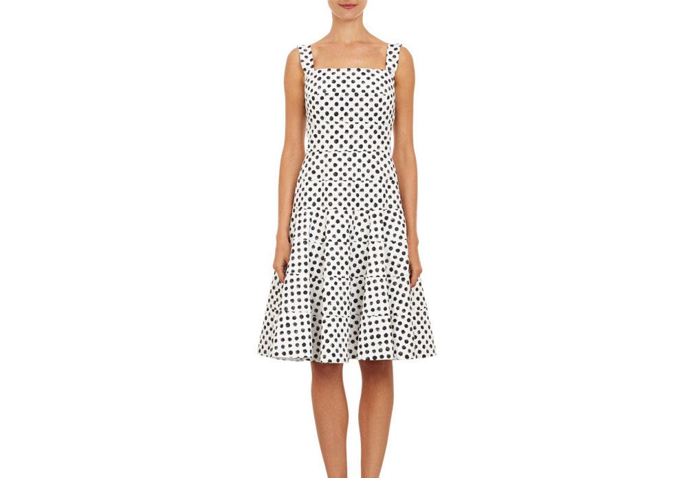 Dolce & Gabbana Polka Dot Tiered Sundress, $2,295