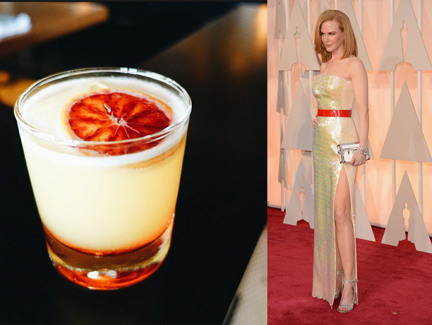 Freddy Smalls Tequila Sunrise and Nicole Kidman