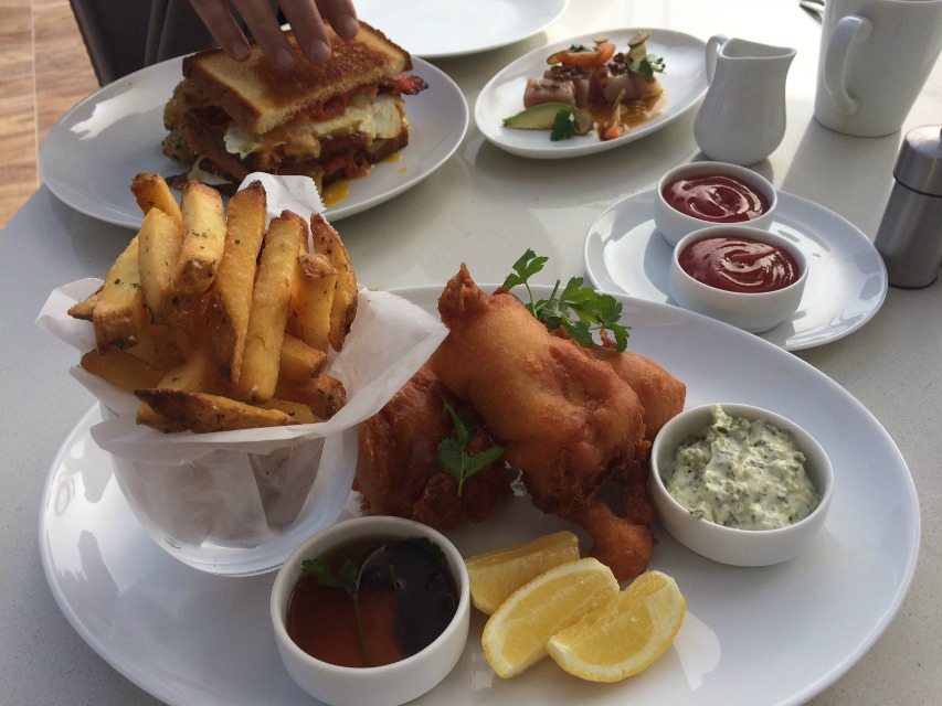 Salt's Fish and Chips is made with Alaskan true cod