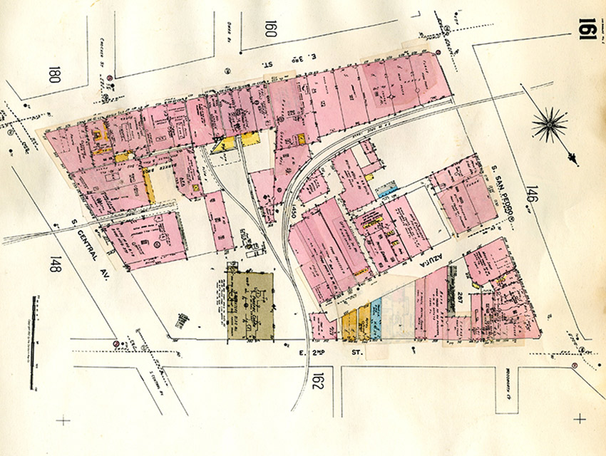 This Map Throws it Back to When Little Tokyo Was Bronzeville Los