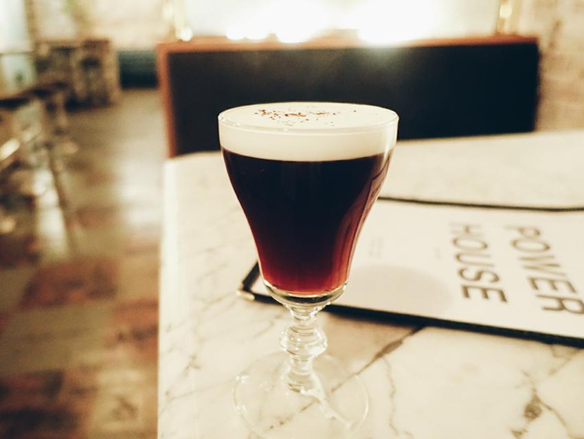 Power House's Irish coffee